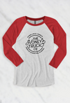 Unisex Honey Truck Baseball Tee