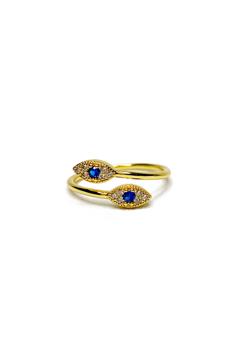 Mila Ring in Gold