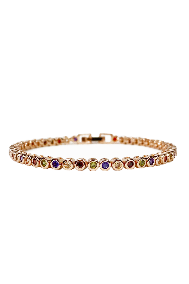 Mini Galini Bracelet in Rainbow