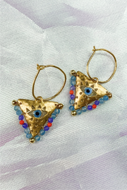 Filaxto Earrings in Multi