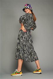 Tatiana Dress in Zebra