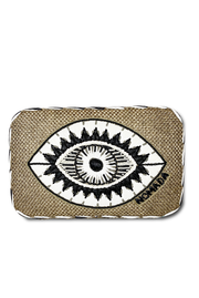 Thalia Clutch in Black
