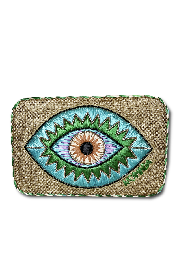 Thalia Clutch in Blue
