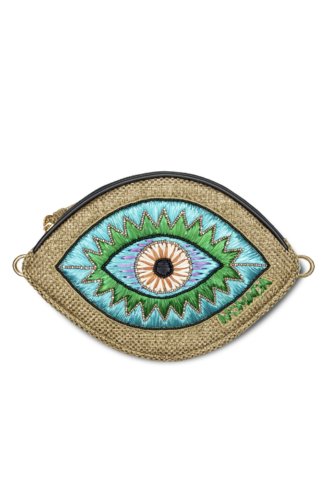 Iris Belt Bag in Blue