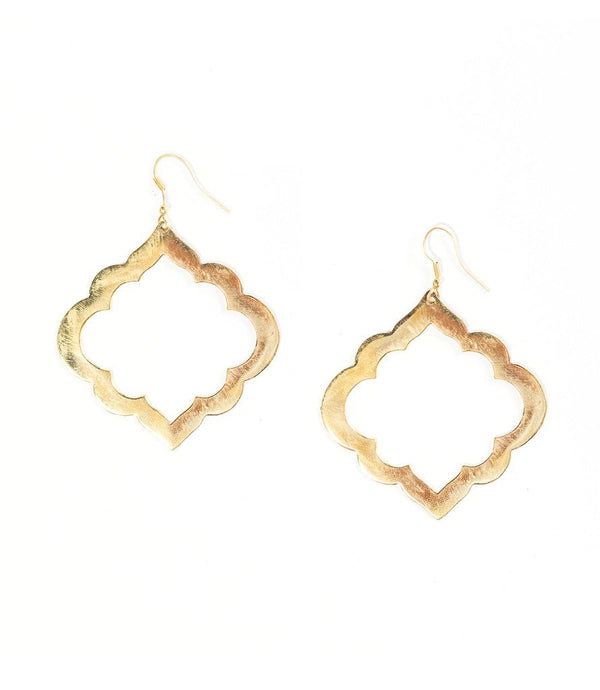 Ashram Window Earrings - Matr Boomie (Jewelry)