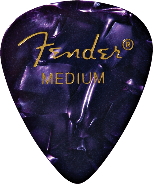 Fender Shape 351 Guitar Pick - Purple Moto - Walt Grace Vintage