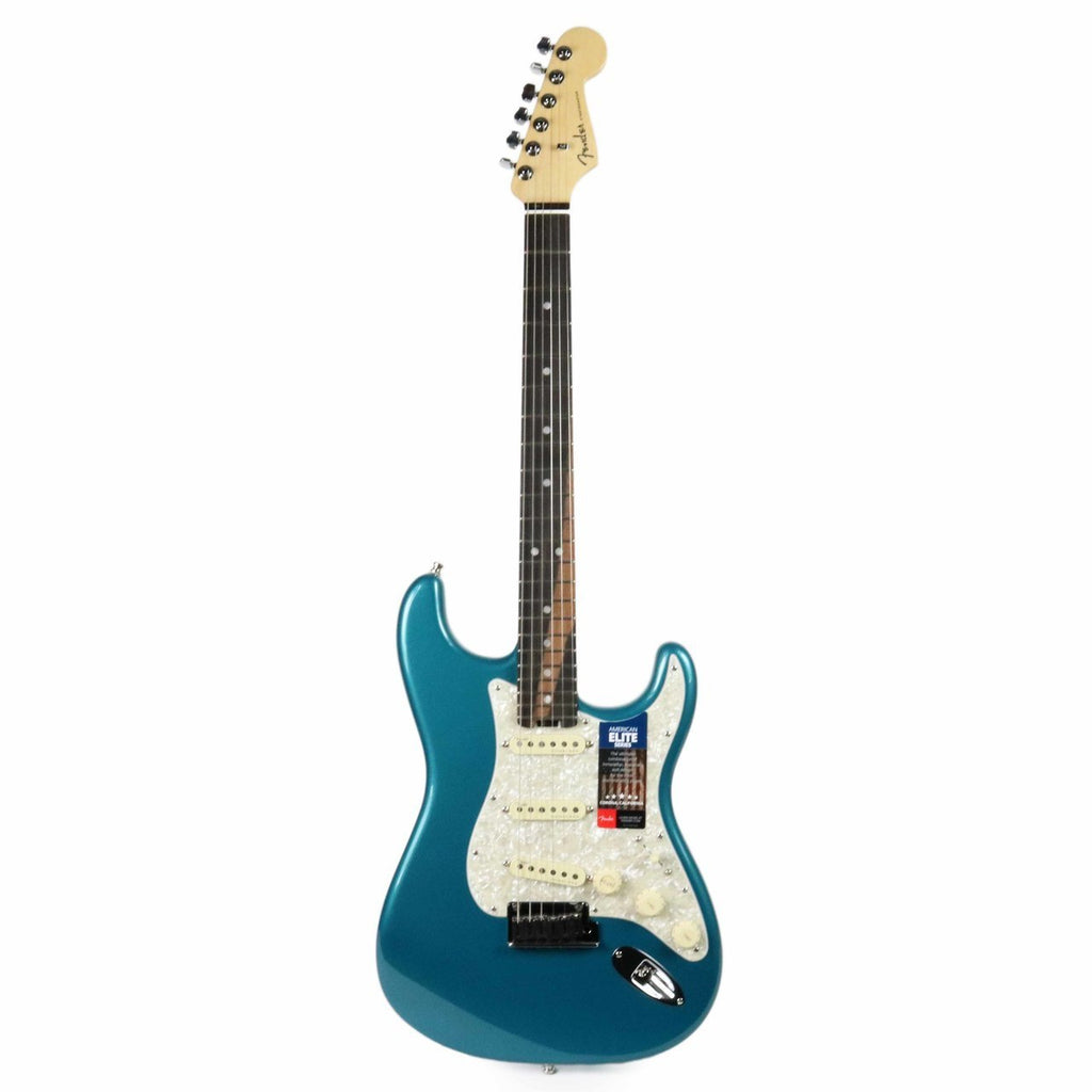 Fender American Elite Stratocaster Electric Guitar - Ocean Turquoise