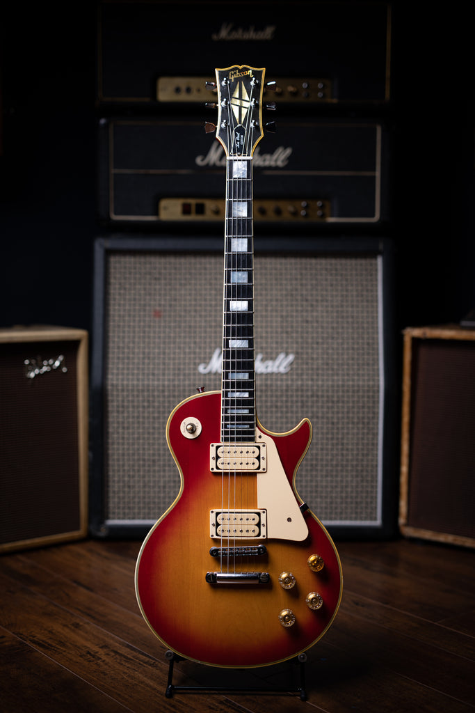 1978 Gibson Les Paul Custom Electric Guitar - Cherry Sunburst - Walt Grace Vintage