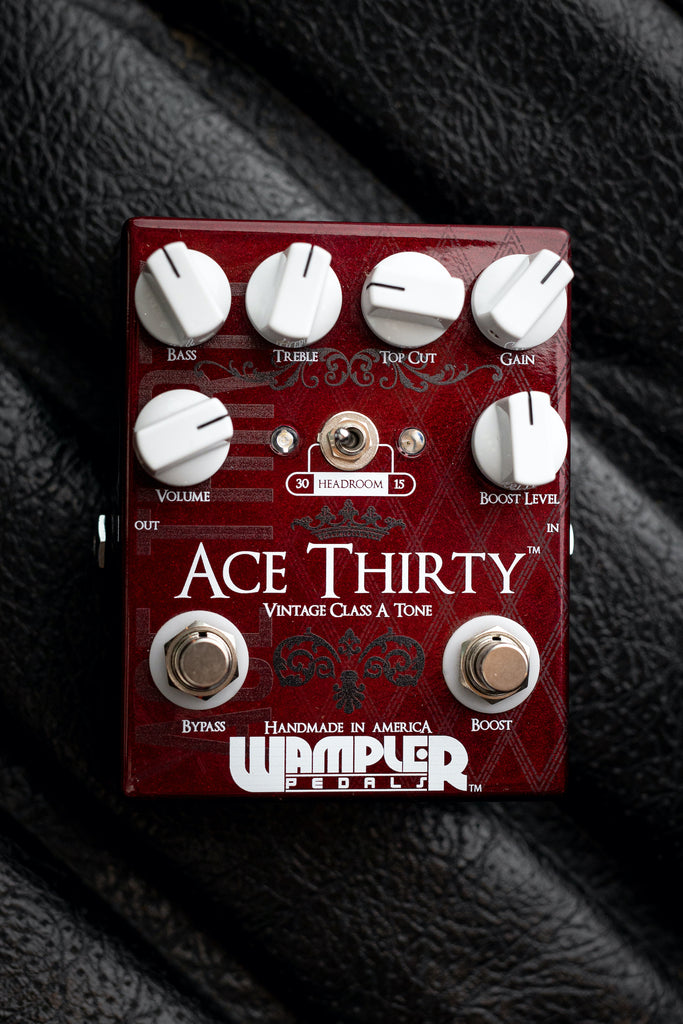 Wampler Ace Thirty Overdrive Pedal - Walt Grace Vintage