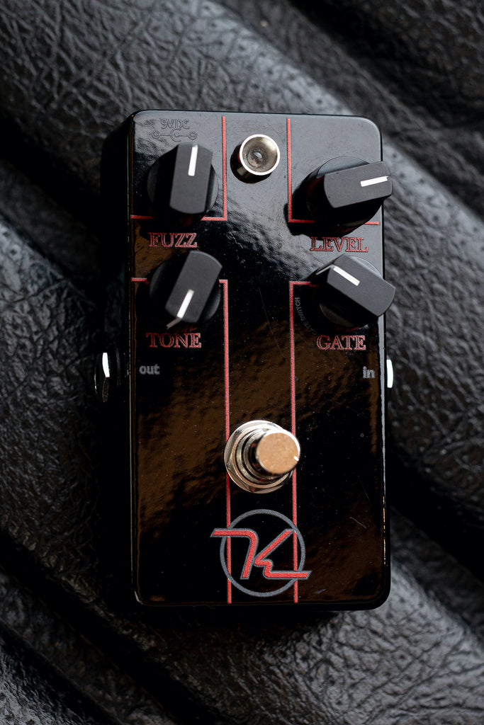 Keeley Holy Fuzz '14 Black (Signed) Pedal - Walt Grace Vintage