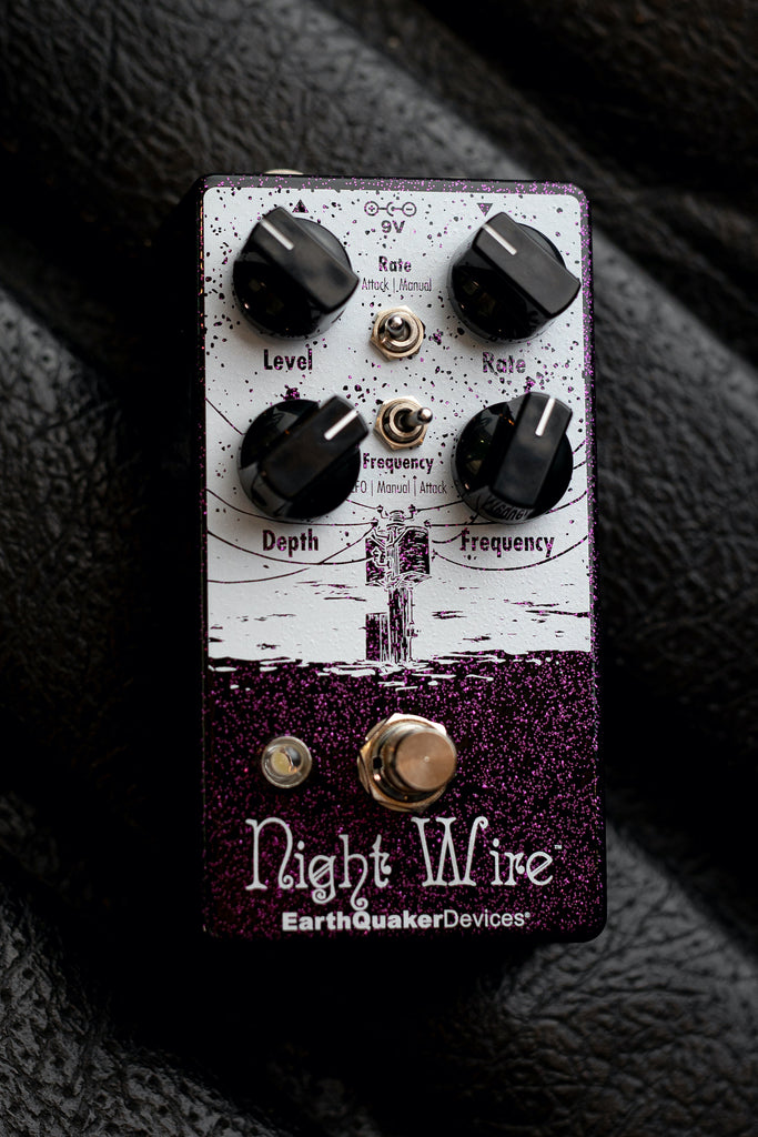 EarthQuaker Devices Night Wire Harmonic Tremolo Pedal - Walt Grace Vintage