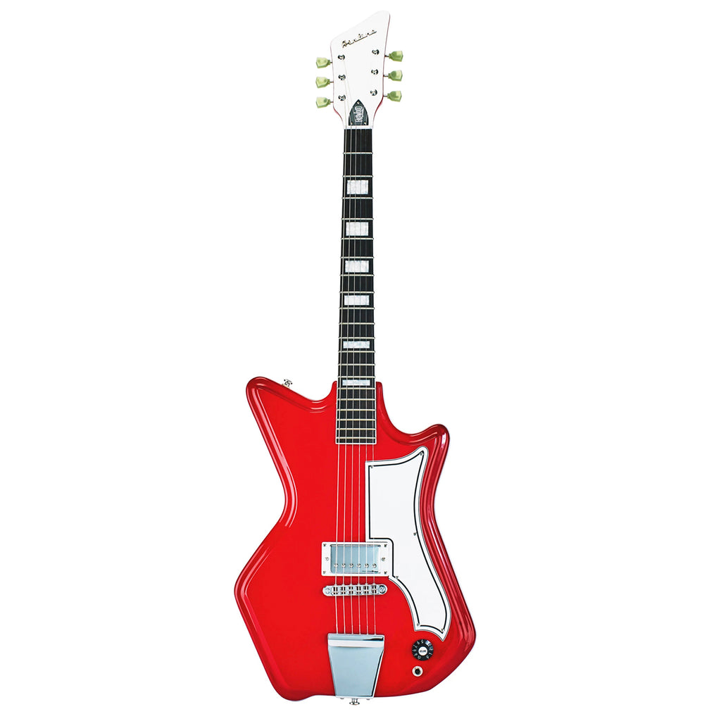 Airline 59 1P Electric Guitar - Red - Walt Grace Vintage