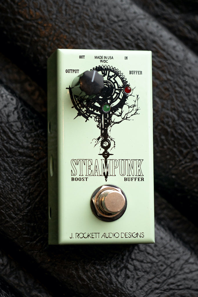 J. Rockett Audio Designs Steampunk Boost Buffer Pedal - Walt Grace Vintage
