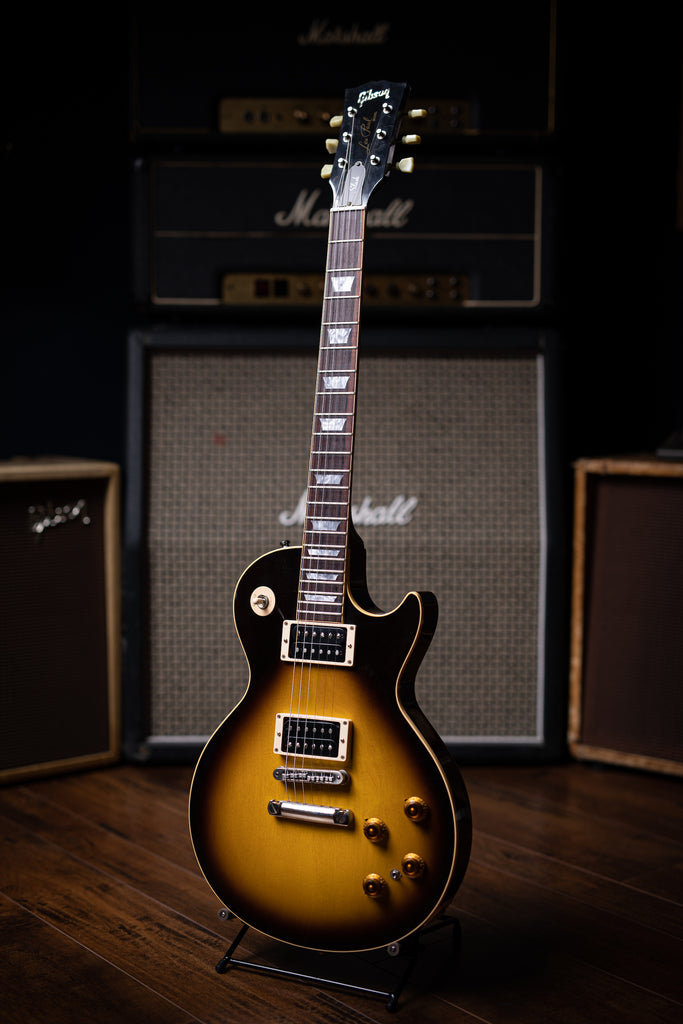 2004 Gibson Custom Shop Slash Les Paul w/Fishman Powerbridge Electric Guitar - Tobacco Burst - Walt Grace Vintage