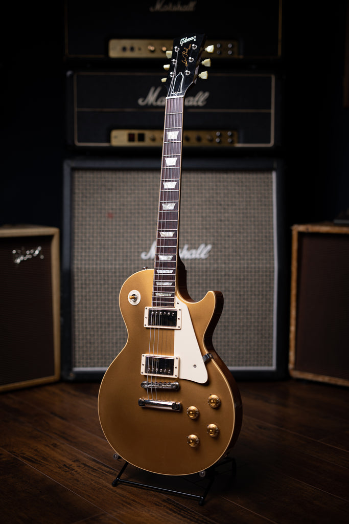 2006 Gibson Custom Shop 1957 Les Paul R7 Goldtop Reissue Electric Guitar - Walt Grace Vintage