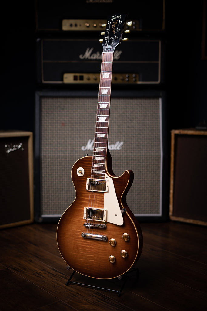 2009 Gibson Custom Shop 1959 Les Paul Reissue 50th Anniversary Electric Guitar - Faded Maple Leaf Burst - Walt Grace Vintage
