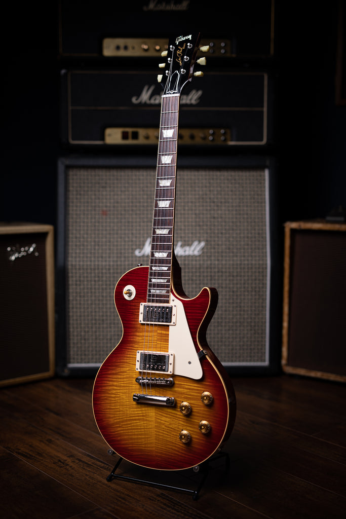 2009 Gibson Custom Shop 1959 Les Paul Reissue 50th Anniversary Electric Guitar - Cherry Sunburst - Walt Grace Vintage