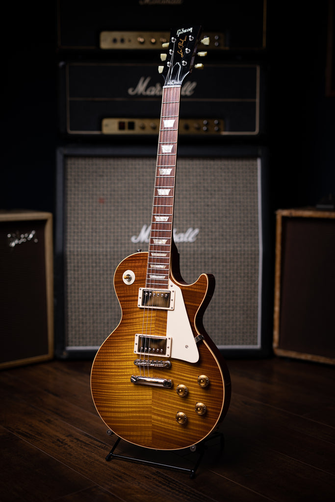 2009 Gibson Custom Shop 1959 Les Paul Reissue 50th Anniversary Electric Guitar - Sweet Tea Burst - Walt Grace Vintage