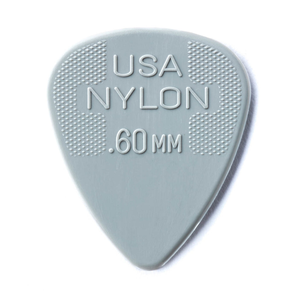 Dunlop Nylon Standard Pick Pack .60 MM - Walt Grace Vintage