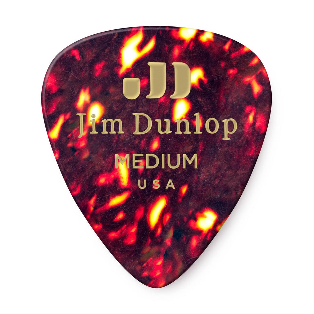 Dunlop Celluloid Shell Pick Medium - Walt Grace Vintage