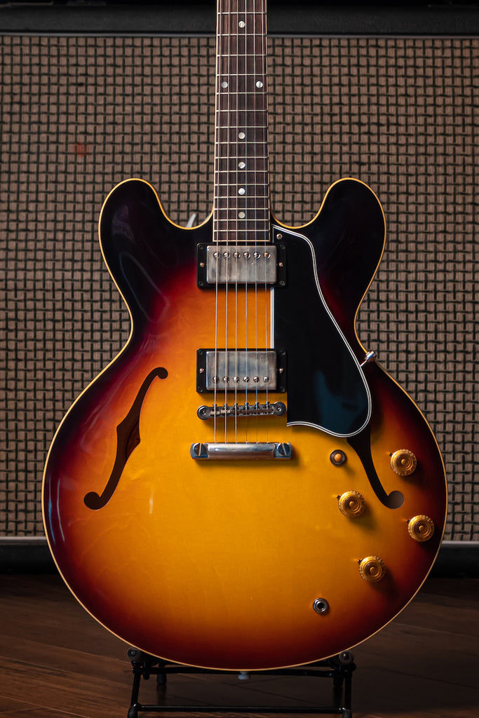 Gibson Custom Shop 1959 ES-335 Reissue Electric Guitar - VOS Vintage Burst - Walt Grace Vintage