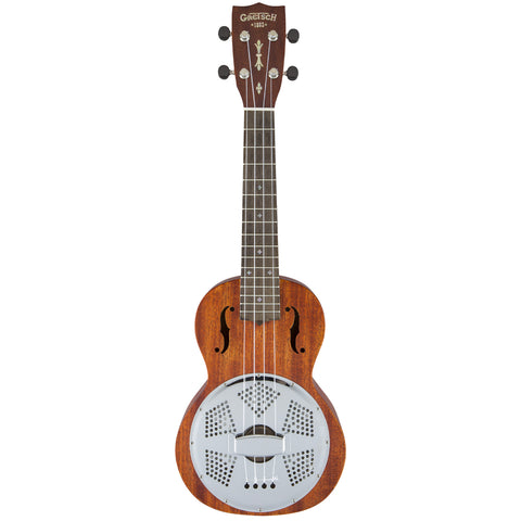 Gretsch G9112 Resonator-Ukulele with Gig Bag - Honey Mahogany Stain