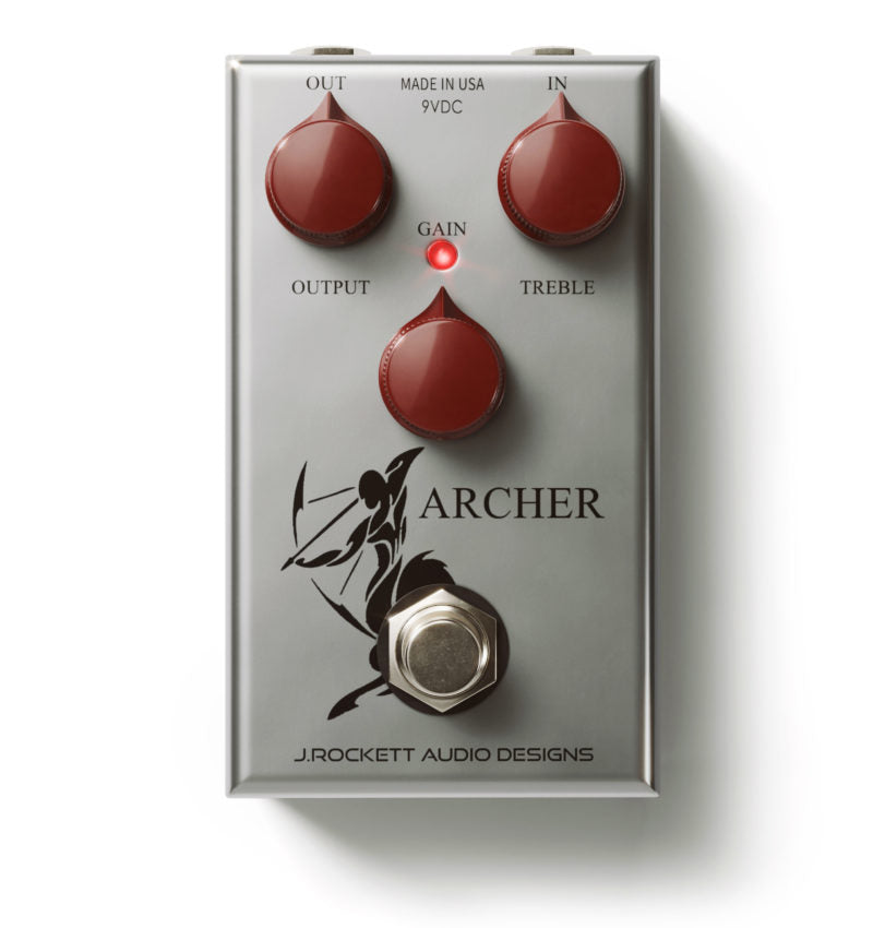 J. Rockett Audio Designs Archer Mid-gain Overdrive Pedal (Klon) - Walt Grace Vintage