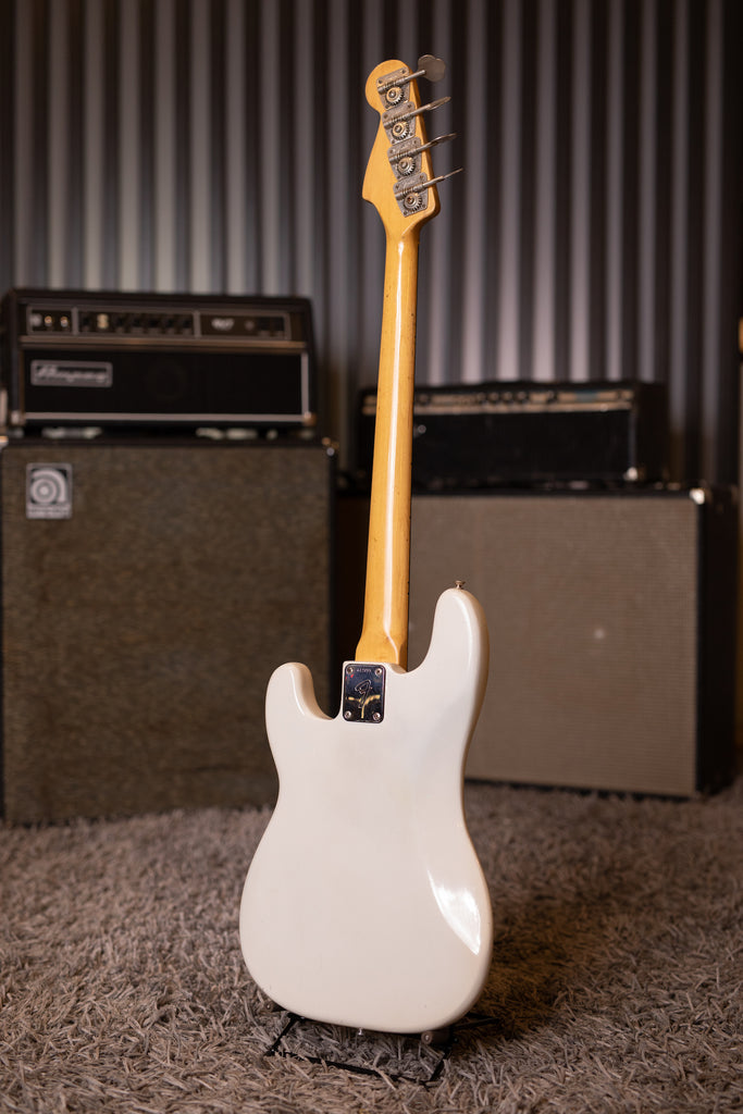 1975 Fender Precision Bass - Olympic White - Walt Grace Vintage