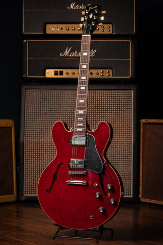 ES-335 Figured Electric Guitar - Sixties Cherry