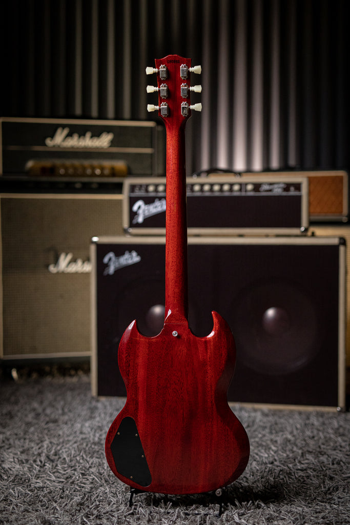 Gibson Custom Shop 1964 SG Standard Reissue W/ Maestro Electric Guitar - VOS Cherry Red - Walt Grace Vintage