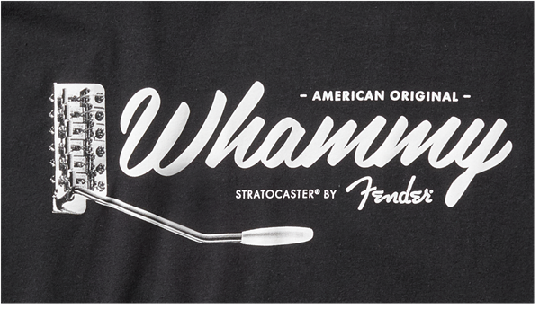 Fender American Original Whammy T-shirt - Black - Walt Grace Vintage