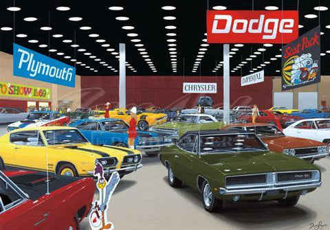 """Auto Show 1969"" Limited Edition Print"