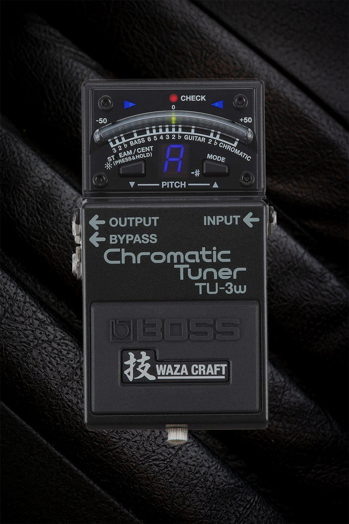 BOSS - TU-3W Waza Craft Chromatic Tuner Pedal
