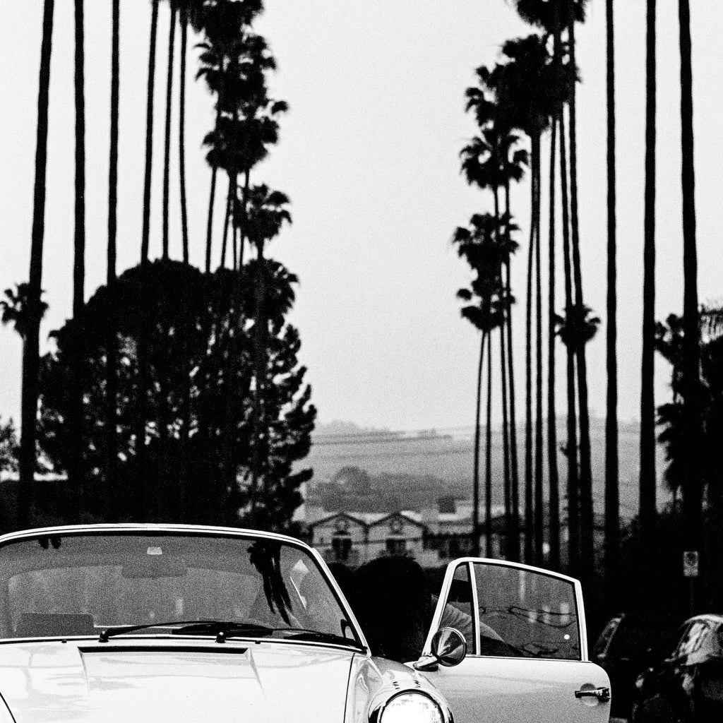 Bart Kuykens Automotive Print - 912 Palmtrees - Walt Grace Vintage