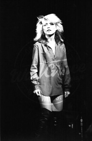 Mark Weiss: Debbie Harry 1978: Signed Print