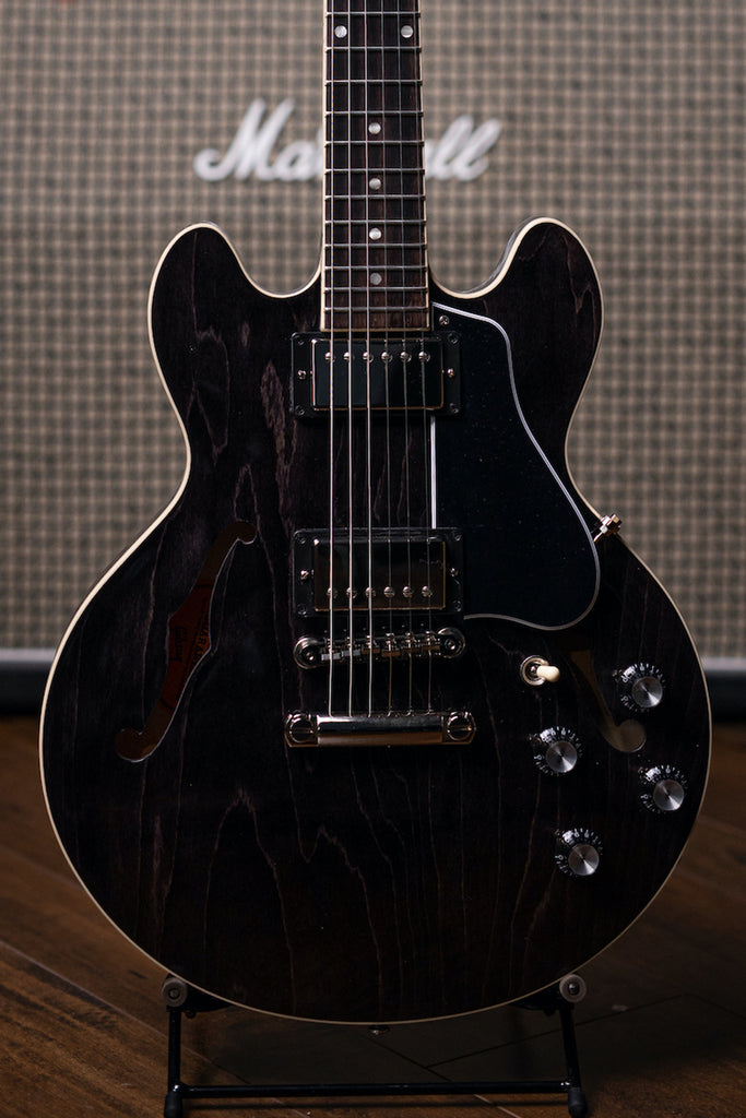 Gibson ES-339 Electric Guitar - Trans Ebony - Walt Grace Vintage