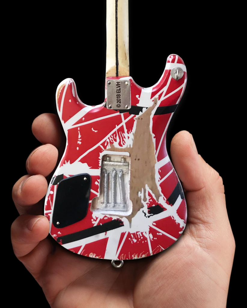 EVH 5150 Eddie Van Halen Mini Guitar Replica Collectible - Officially Licensed