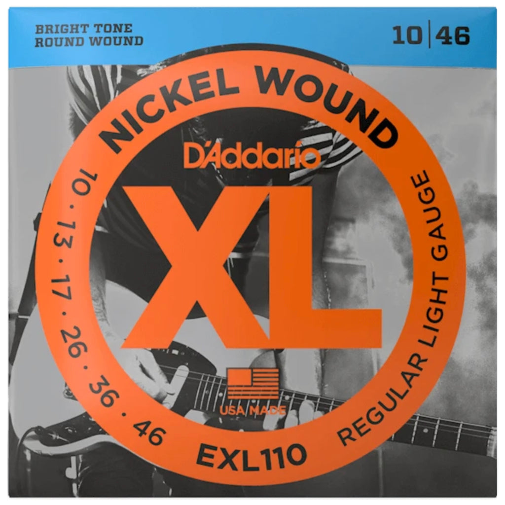 D'Addario - EXL110 XL Nickel Electric Guitar Strings 10-46 - Walt Grace Vintage