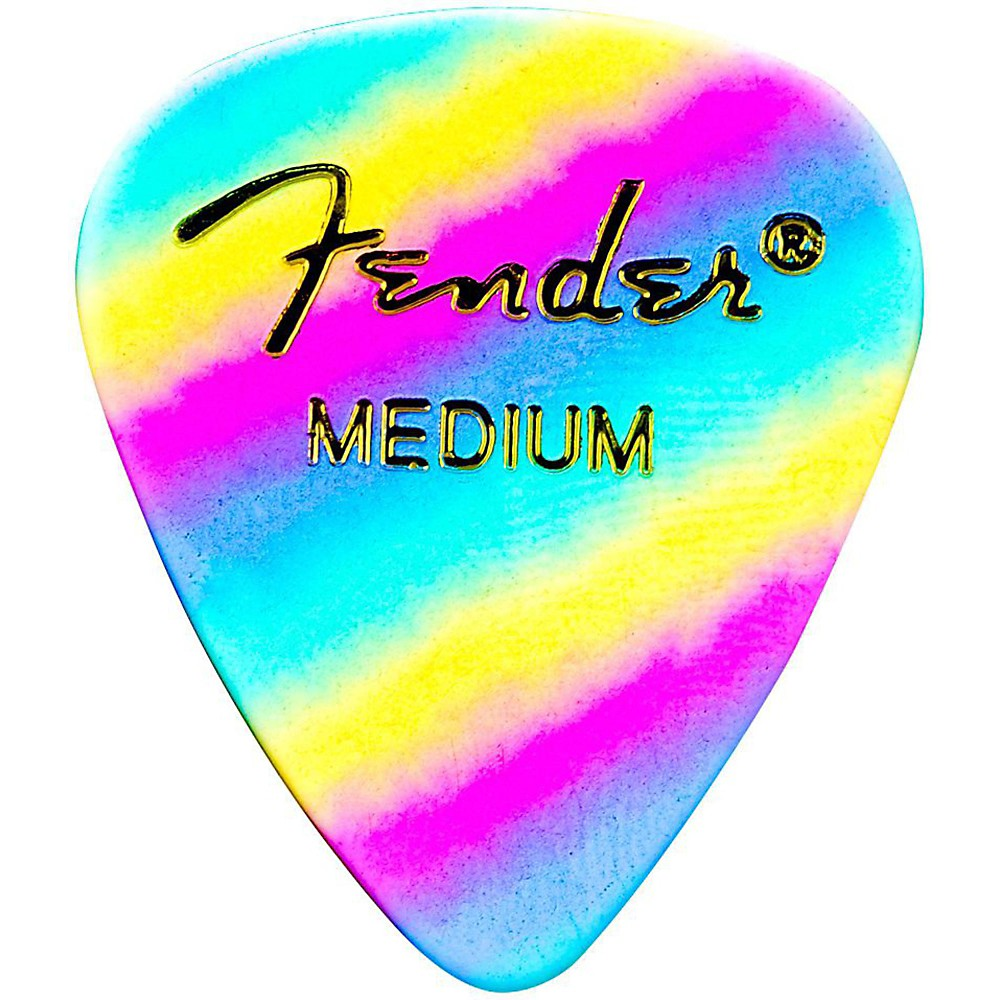 Fender Shape 351 Guitar Pick - Rainbow - Walt Grace Vintage