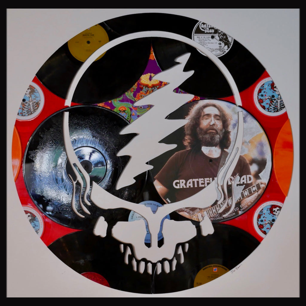 Alex Grimmer (Aka DeadWax1) Art - Grateful Dead - Walt Grace Vintage