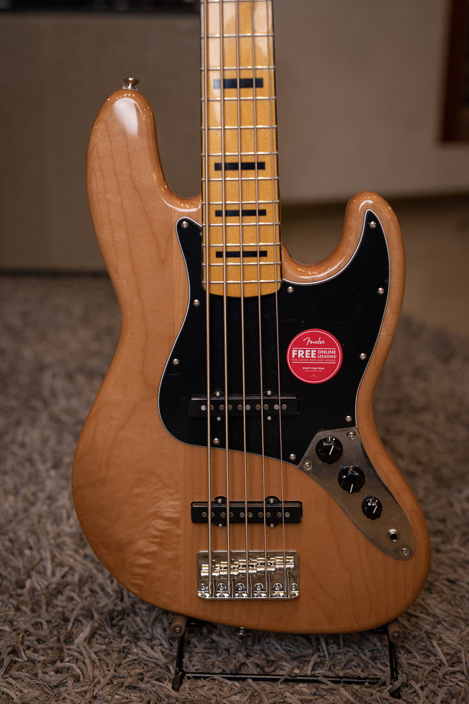 Squier Jazz Bass Classic Vibe V 70s - Natural - Walt Grace Vintage