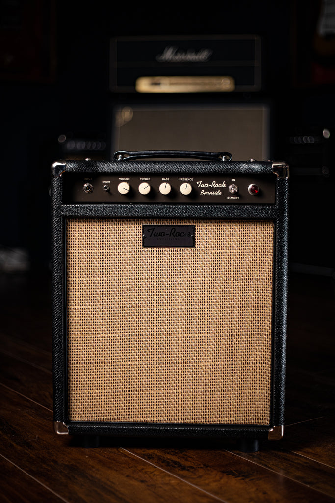 Two-Rock Burnside 28 Watt Combo Amp - Black Tweed, Cane Cloth - Walt Grace Vintage