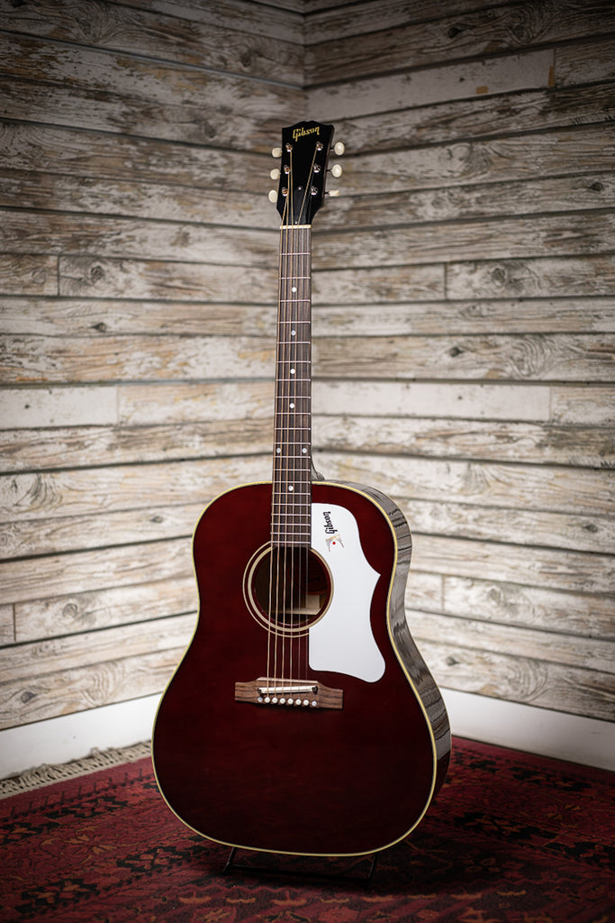 Gibson 60's J-45 Original (no pickup) Acoustic Guitar - Wine Red