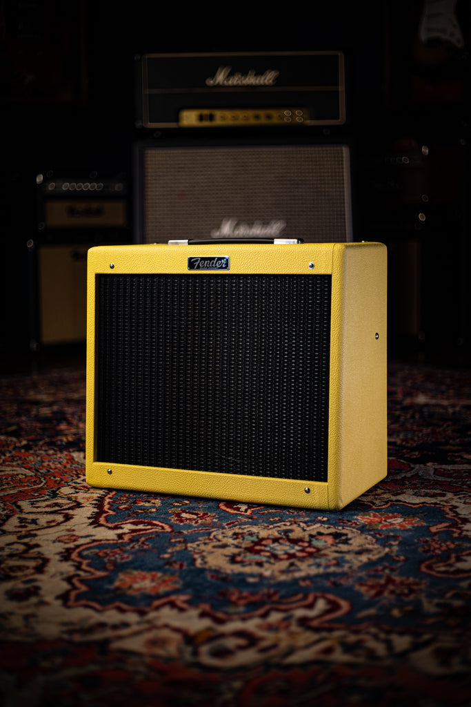 Fender Blues Junior IV 2020 Limited Edition Eminence Swamp Thang Yellow