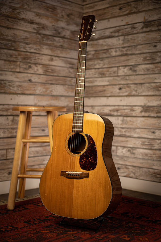 1960 Martin D-18 Acoustic Guitar - Natural