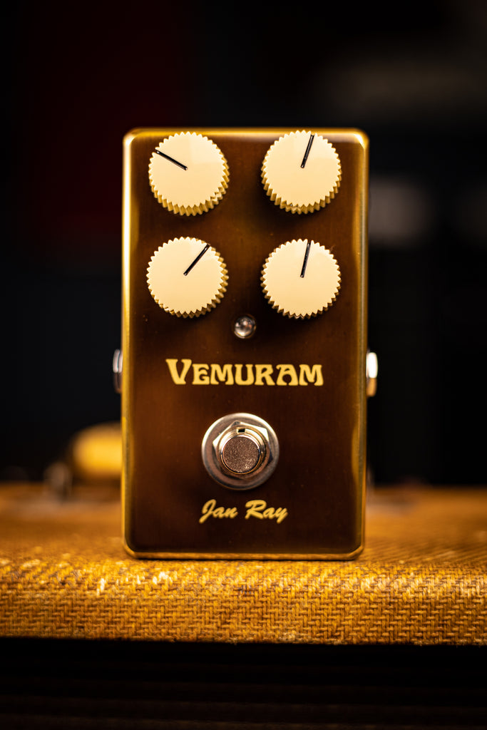 Tri-Sound Vemuram Jan Ray Overdrive Pedal