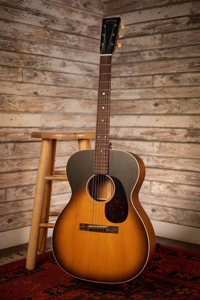 Martin 000-17E Acoustic Electric Guitar - Whiskey Sunset Burst