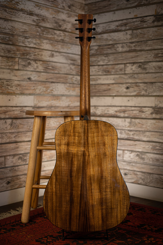 Martin D-12E Koa Acoustic Electric Guitar - Natural