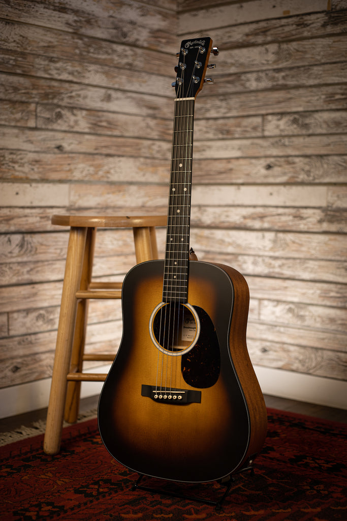 Martin D Jr-10E Acoustic Electric Guitar - Sunburst