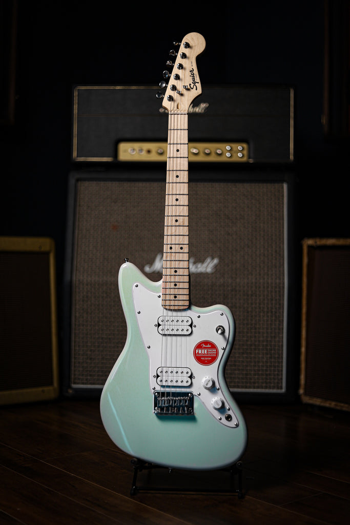Squier Jazzmaster HH Mini Electric Guitar - Surf Green